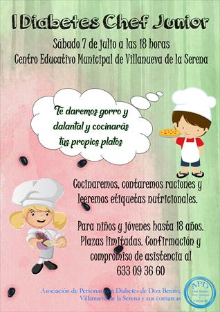 I DIABETES CHEF JUNIOR EN VILLANUEVA DE LA SERENA