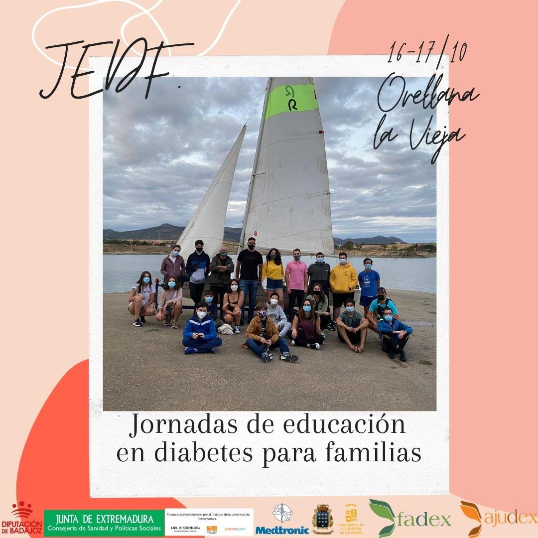 JORNADAS DE EDUCACIÓN EN DIABETES PARA FAMILIAS 2021